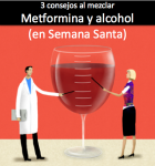 Recomendaciones antes de mezclar 'Metformina y alcohol'