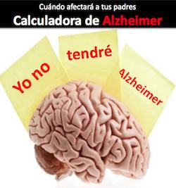 la calculadora de Alzheimer