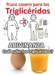Como se suben los trigliceridos