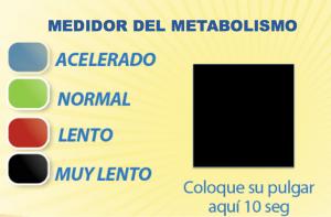 Metabolismo: como medirlo (en casa)