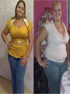 Pastillas para bajar de peso antes y después