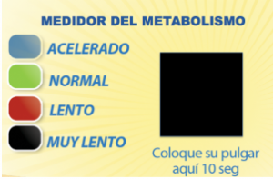 medir el metabolismo