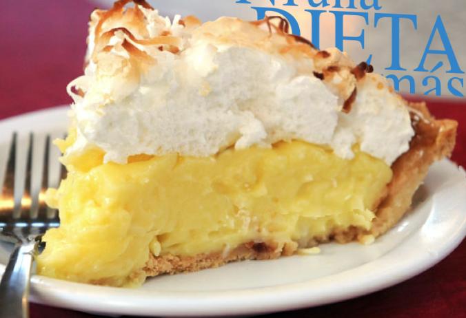 Pie de Coco (sin azúcar) - un regalo de Dios para adelgazar